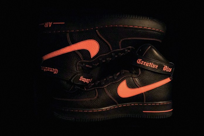 A$AP Bari Unveils the VLONE x Nike Air Force 1 High