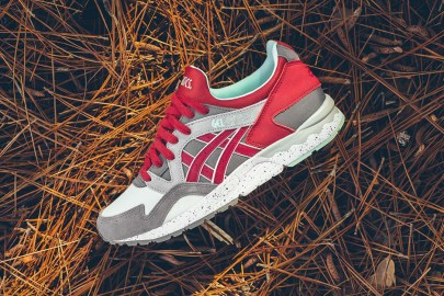 The ASICS GEL-Lyte V Gets Done in a Fiery Carbon Red and Cool Mint