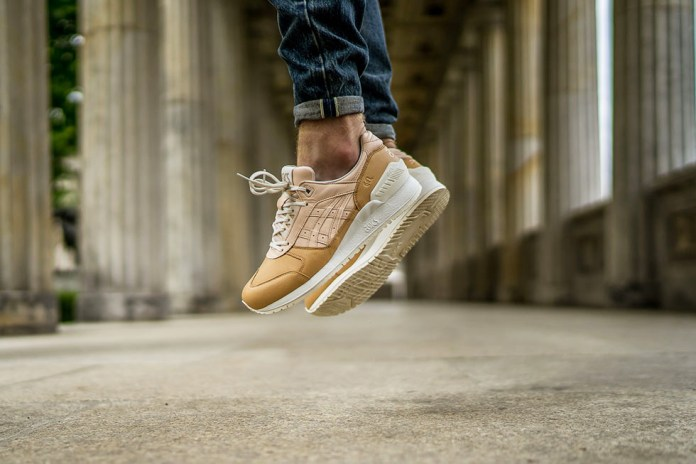 """ASICS Completes Its """"Veg-Tan"""" Pack With the GEL-Respector"""