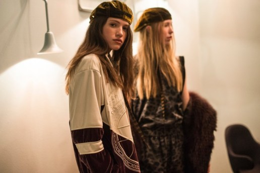 Backstage at Astrid Andersen 2017 Fall/Winter Was a Moment in Fancy Streetwear