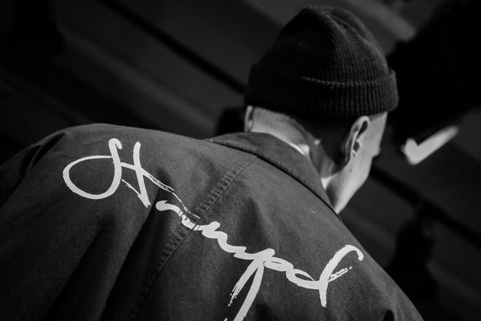 "Backstage at STAMPD's 2017 Fall/Winter ""Asphalt Wave"" Show"