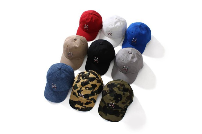 BAPE Is Re-Releasing Its Legendary 1st Camo Shark Caps