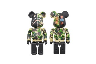 BAPE Teams up With Medicom Toy for Another BE@RBRICK and Apparel Collection