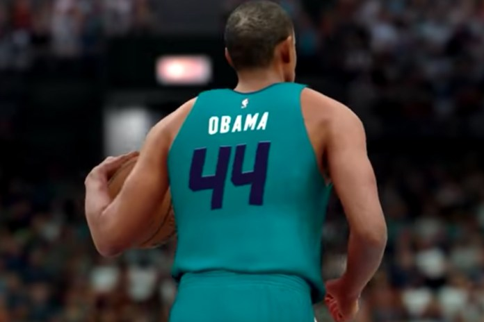 Watch Barack Obama Play Basketball in the NBA