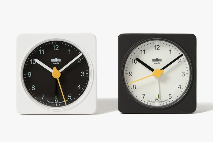 BEAMS and Braun Come Together for a Classic BNC002 Clock