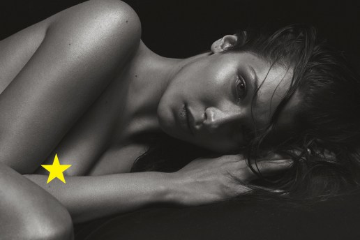 Bella Hadid Is Totally Bare in Mario Sorrenti's Nude Shoot