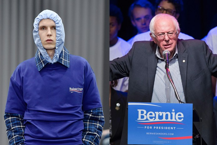 Bernie Sanders Responds to the Balenciaga Collection Inspired by Him