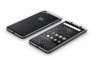 BlackBerry Officially Unveils Its New KeyOne Device at the World Mobile Congress
