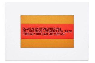 Live Stream the Calvin Klein 2017 Men's & Women's Fall/Winter Collection Presentation