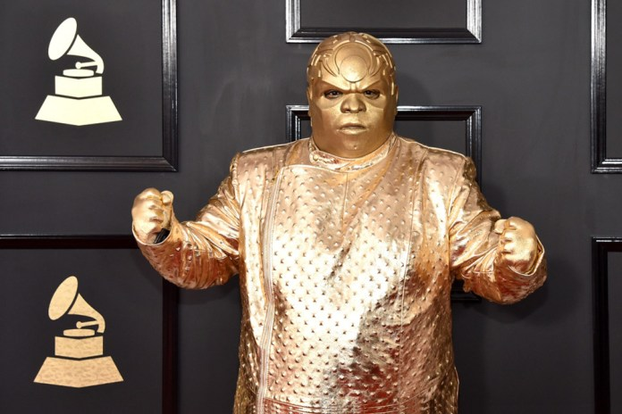 CeeLo Green Reveals the Truth About His Bizarre Gold GRAMMY Outfit