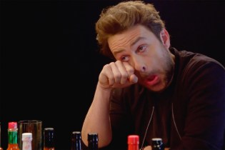 Charlie Day Gets Pushed to the Brink on 'Hot Ones'