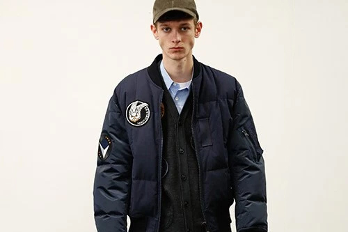 COMME des GARÇONS HOMME 2017 Fall/Winter Takes on a Strong Military Presence