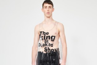 Flaunt Your Stuff in This COMME des GARÇONS HOMME Plus Transparent Tank Top