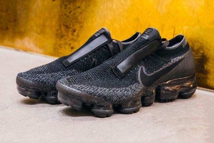 The COMME des GARÇONS x NikeLab Air VaporMax Is Releasing Tomorrow