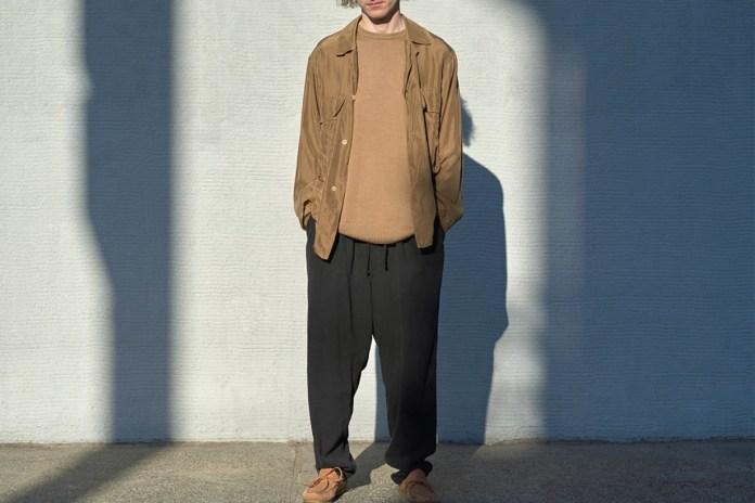 COMOLI's 2017 Spring/Summer Collection Elevates Wardrobe Essentials
