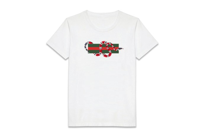 Coolporate Bootlegs the Gucci Snake Print T-Shirt