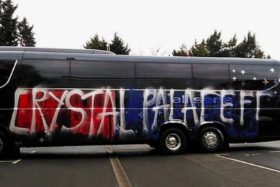 These Crystal Palace FC Fans Accidentally Vandalized Their Own Team Bus