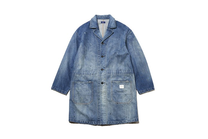 Add DENIM BY VANQUISH & FRAGMENT's Coat To Your Wardrobe