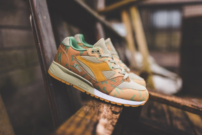Diadora Covers the S.8000 in Japanese Military Camouflage