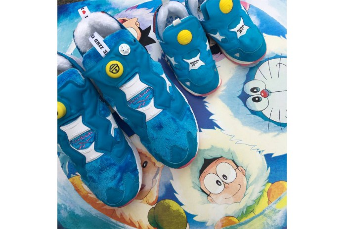 Doraemon Gets Transformed Into a Reebok Instapump Fury