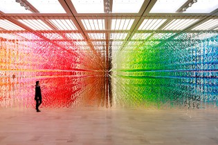 "Emmanuelle Moureaux Created the Perfect Eye Candy With ""Forest of Numbers"""