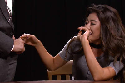 Jennifer Lee Regrets Reaching Into Eric Andre's Pockets on Latest Episode of 'Hot Babes'