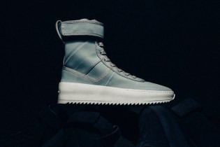 Fear of God Drops Its Military Sneaker in Mint Green