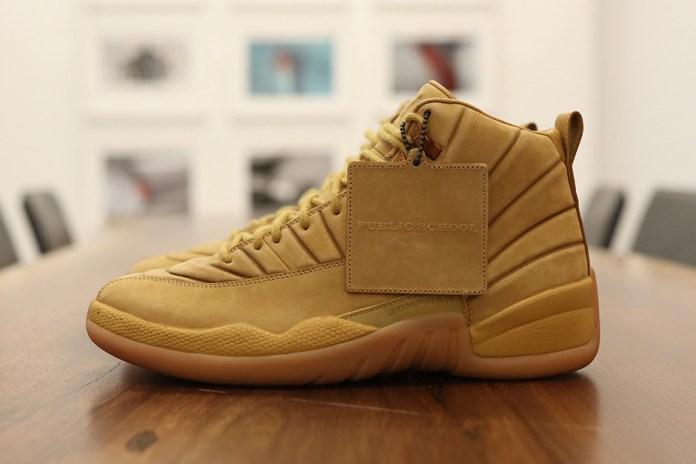 "A First Look at the Upcoming PSNY x Air Jordan 12 ""Wheat"" Collaboration"