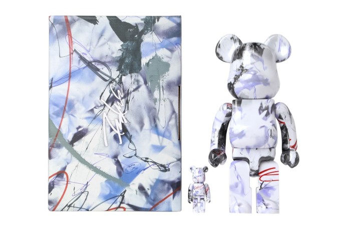 Futura Works with Medicom to Present a Set of Marble-Like Be@rbricks