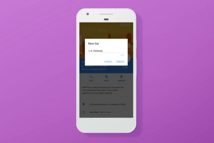 The Google Maps App Now Lets You Create & Share Lists of Your Favorite Spots