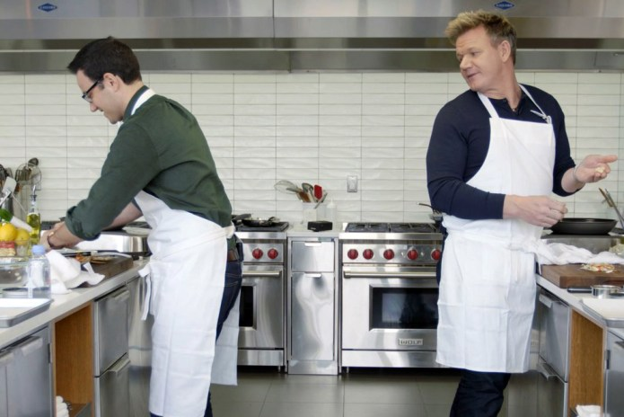 Watch Gordon Ramsay Put a Random Guy to Shame