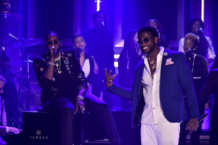 "Watch Gucci Mane & 2 Chainz Perform ""Good Drank"" on 'Jimmy Fallon'"