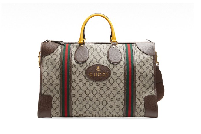 Gucci Debuts Neo-Vintage Luggage Collection