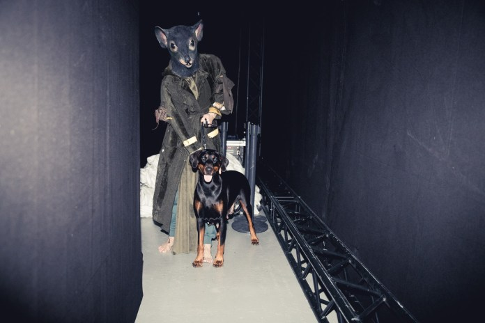 Take a Peek Backstage at Han Kjøbenhavn's Slightly Disturbing 2017 Fall/Winter Show