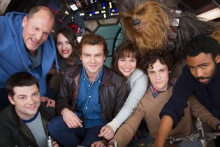 Untitled Han Solo 'Star Wars' Story Movie: First Look at the Main Cast and Creators Together
