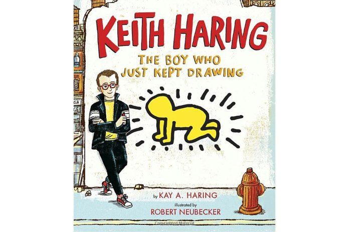 #hypebeastkids: 'Keith Haring: The Boy Who Just Kept Drawing' Honors the Legendary Artist