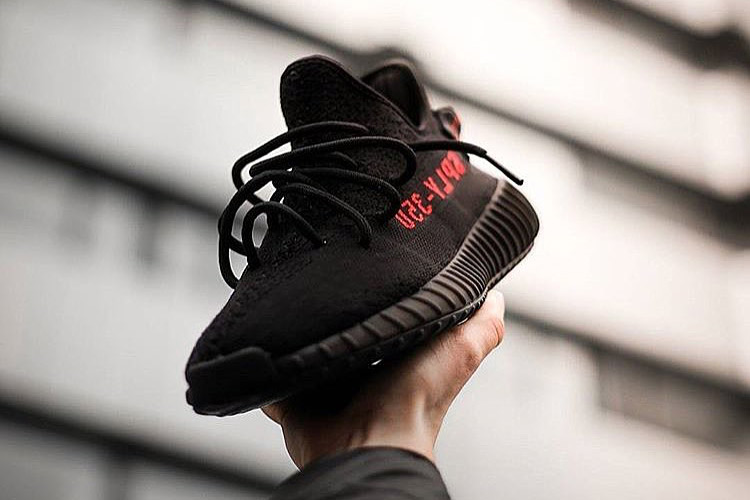 HYPEFEET adidas YEEZY BOOST 350 V2 Black Red - 3722436