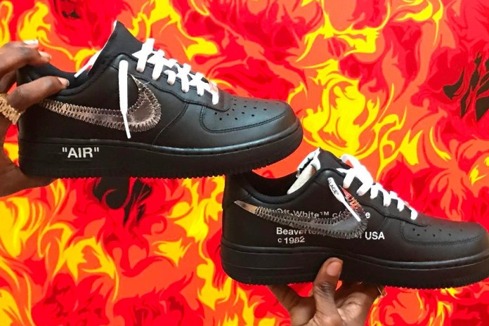Ian Connor Teases Potential OFF-WHITE x Nike Air Force 1 Collaborative Silhouette