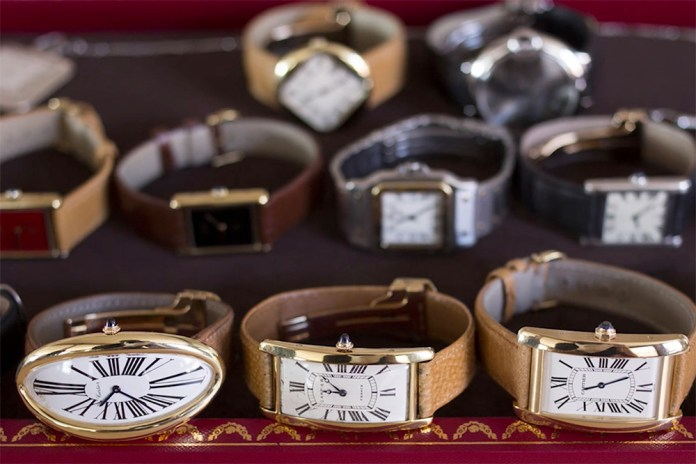 An Inside Look at Some of Cartier's Most Iconic Watches