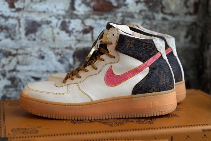 Louis Vuitton's Heritage Style Gets Injected Into a Pair of AF1s