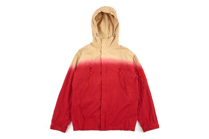 Get Your Hands on JohnUNDERCOVER's Dip-Dye Hooded Jacket Now