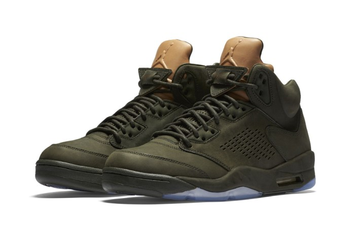 "The Jordan V PRM ""Take Flight"" Receives a Special Military-Inspired Package"
