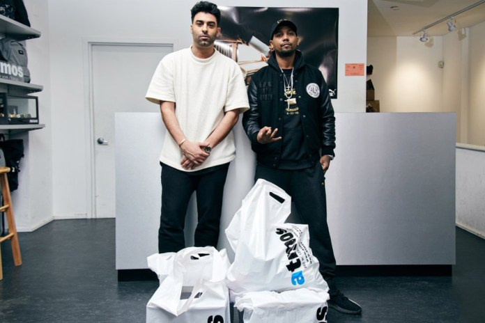 Juelz Santana Talks New York's Staple Footwear at atmos Harlem