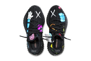 Here's What a KAWS x YEEZY BOOST 350 V2 Collaboration Might Look Like