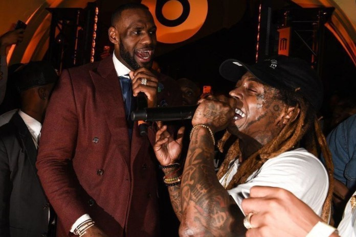 Watch LeBron James Reunite Lil Wayne and the Hot Boys