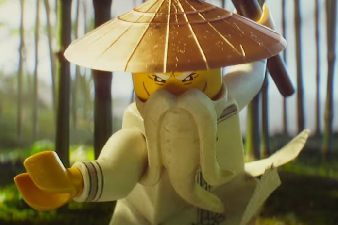 Jackie Chan Is a Badass Sensei in the First Trailer for 'The LEGO Ninjago Movie'