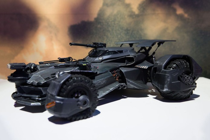 Mattel Unveils 'Justice League' Batmobile That Emits Real Smoke