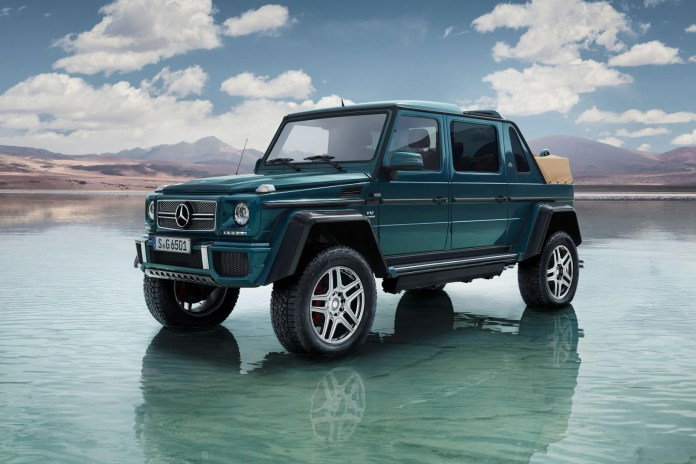 Check out the Mercedes-Maybach G650 Landaulet