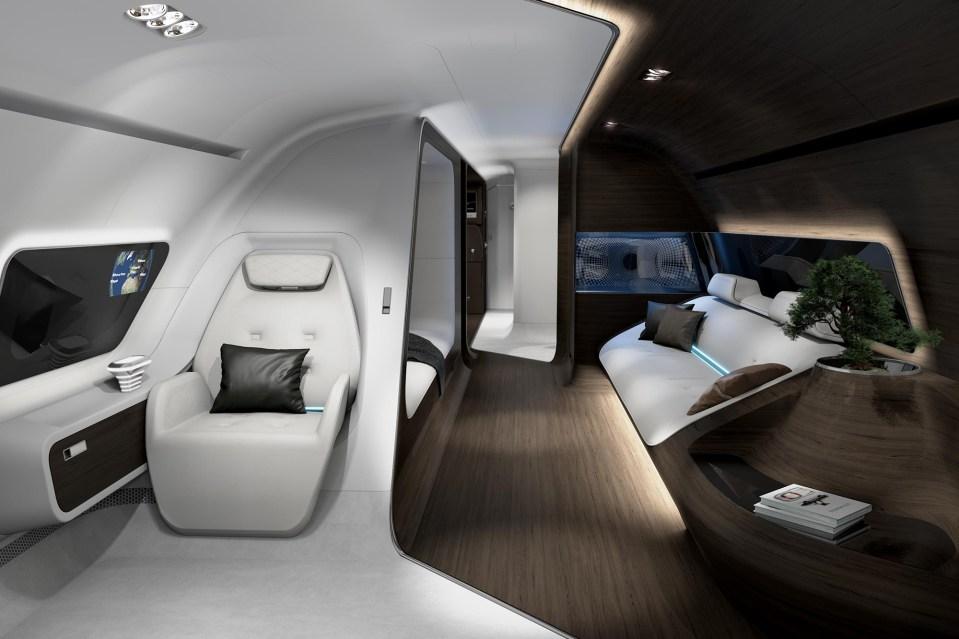 Gucci Benz >> Mercedes-Benz Lufthansa VIP Private Jet | HYPEBEAST