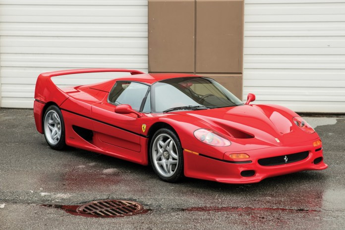 Ferrari F50 Formerly Owned by Mike Tyson Is up for Auction